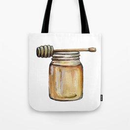 Honey Jar, Honey Bees Tote Bag