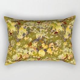 Chartrese Rose Garden Rectangular Pillow