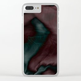 Organic Abstract N°5 Clear iPhone Case