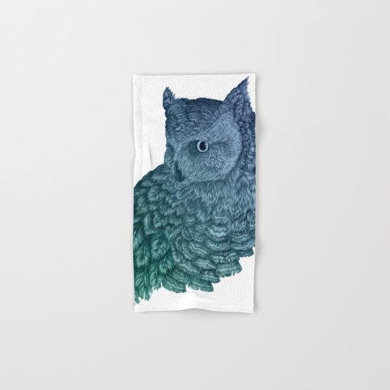 Ombre Owl II Hand & Bath Towel