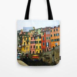 Cinque Terre - Riomaggiore Tote Bag