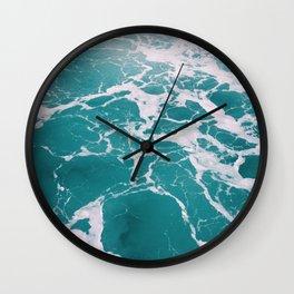 Ocean Shades Wall Clock