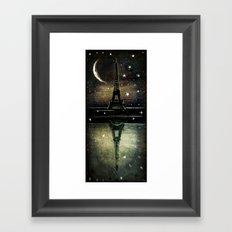 Paris Midnight Framed Art Print