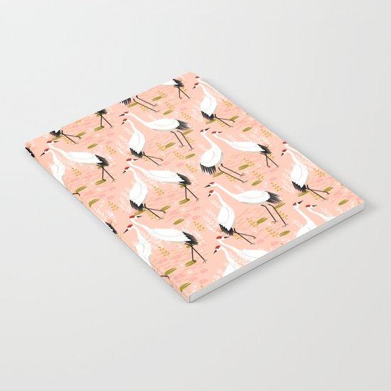 Cranes by Andrea Lauren  Notebook
