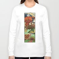 tolkien Long Sleeve T-shirts featuring Tolkien´s world! by Cristina Jiménez Burgos