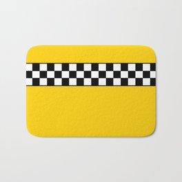 NY Taxi Cab Cosplay Bath Mat
