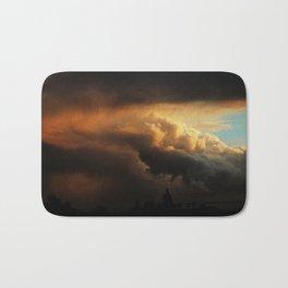angry cloud Bath Mat