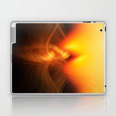 on fire Laptop & iPad Skin
