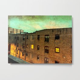 Heroin Alley Metal Print