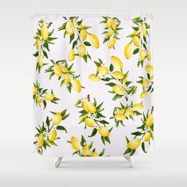 life gives ya lemons Shower Curtain