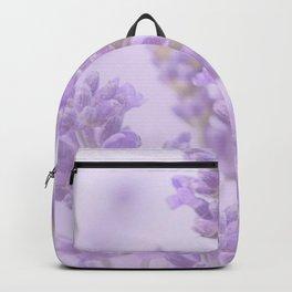 Lovely Lavenders Pastel Purple Background #decor #society6 #buyart Backpack