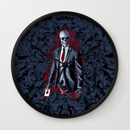 The Gambler Wall Clock