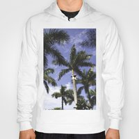 palms Hoodies featuring Palms by Chrissy Jenks