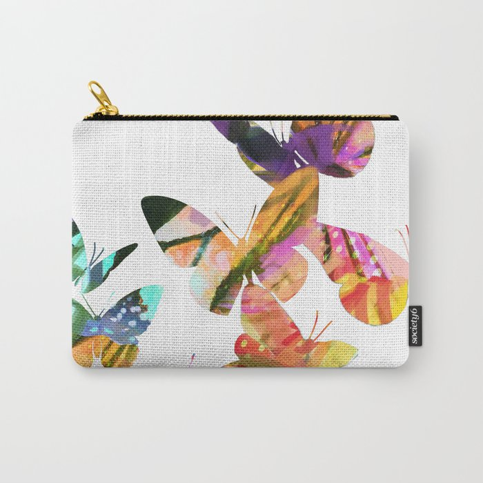 Butterfly Swarm Carry-All Pouch