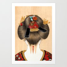 Turning Japanese IV Art Print