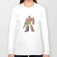 optimus prime Long Sleeve T-shirts featuring Optimus Prime by colleencunha