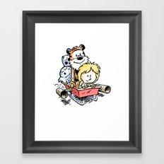 Not the Droids! Framed Art Print