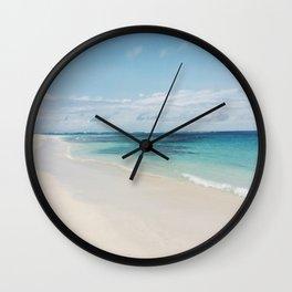 Flamenco Beach Wall Clock