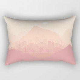 Clear morning Rectangular Pillow