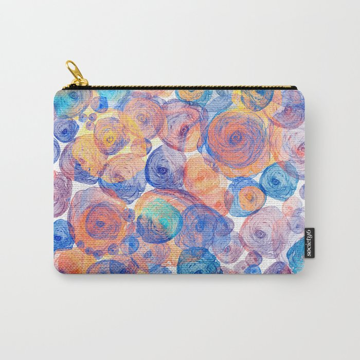 Floral abstract(44) Carry-All Pouch