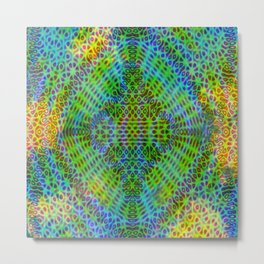 Colorful diffraction Metal Print