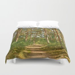 Forest path 41 Duvet Cover