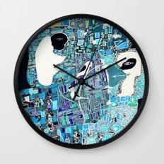 the walls must fall Wall Clock