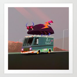 Pest Control Art Print