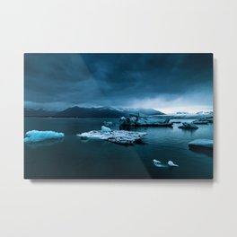 Blistering Cold Metal Print