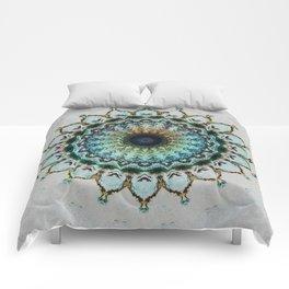 Mandala boho style Comforters