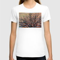 stripe T-shirts featuring Stripe Resistance by Julie Maxwell