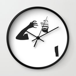 Color Wipe Wall Clock