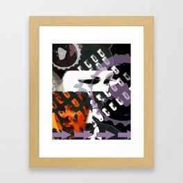 Obstruction  Framed Art Print