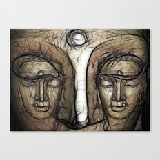 Double Face Canvas Print