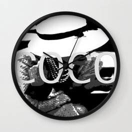 VINTAGE COCO COLLECTION: COCO WHITE HAT Wall Clock