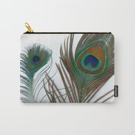 Peakock's Feathers Carry-All Pouch