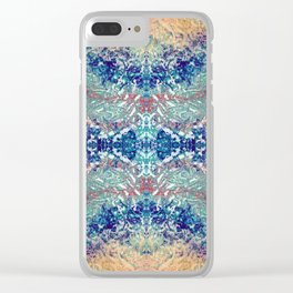 Mountain Trail Edit Mirrored Clear iPhone Case