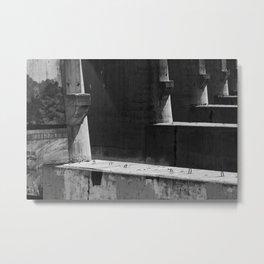 Barriers Metal Print
