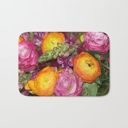 Annas Flowers II Bath Mat