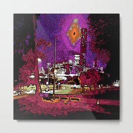 Brisbane CBD Metal Print
