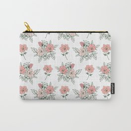 Delicate floral. Carry-All Pouch