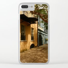 Charming Charleston Street Clear iPhone Case