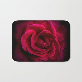 Texture Of A Rose Bath Mat