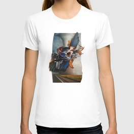 Restless Spirit | Collage T-shirt