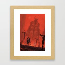Ritterbruder Framed Art Print
