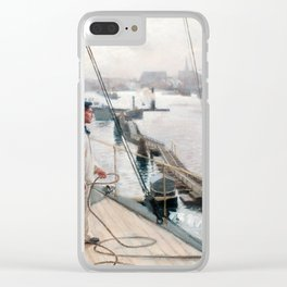 ALBERT EDELFELT, FROM THE PORT OF COPENHAGEN Clear iPhone Case