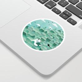 Tree Hugger (Spring & Summer version) Sticker
