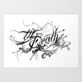 Minga X Til Death Art Print