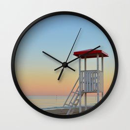 Patrol Tower Wall Clock