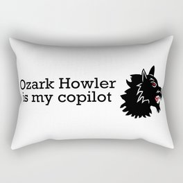 Ozark Howler Head Rectangular Pillow